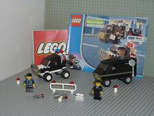 Set légo city 7032 HIGHWAY PATROL AND UNDERCOVER VAN complet avec notice