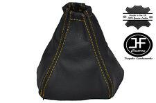 Costura Amarillo Manual Cuero Gear Polaina encaja Kia Sorento 2002-2006
