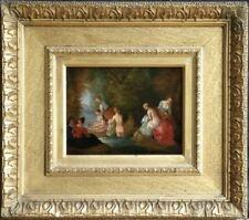 Antique (Pre-1900) Oil Ancient Art Art Paintings