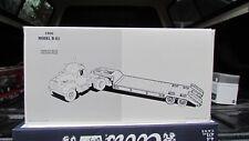 Mack 1960 Model B-61 Tandem Axle With Lowboy Trailer Diecast Car