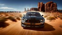 """Ford Mustang Shelby GT350 Auto Car Art Silk Wall Poster Print 24x36"""""""