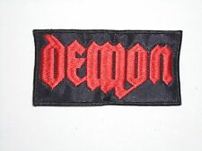 DEMON NWOBHM EMBROIDERED PATCH