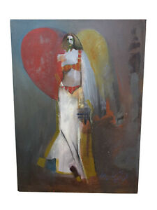 Michael Veloy Vigil Southwest Taos New Mexico Nude Bikini Woman Art Painting
