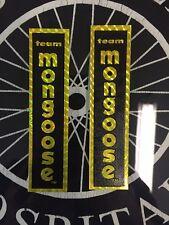 Vintage Bmx Nos Team Mongoose Frame Decals