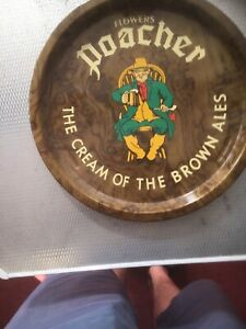 Superb Early 1960s Flowers Luton Beer Tray