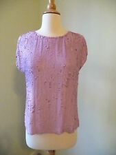 NEW J.CREW  COLLECTION MATTE SEQUIN TOP, 35009, SIZE 2, $595