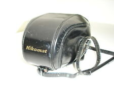 NIKON NIKOMAT Camera case with strap for NIKKORMAT series SLR CAMERAS #01676