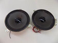 """Aiwa 8 Ohm 4"""" inch 3 Watt Boombox Speaker Replacement Pair"""