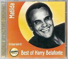 Belafonte, Harry Matilda Best of Zounds Gold CD