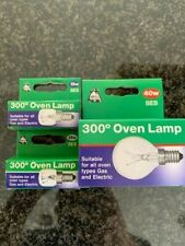 BELL 15W 25W 40W SES E14 SMALL SCREW OVEN COOKER 300DEGREE APPLIANCE LAMP BULB