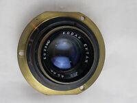 kodak ektar 45mm lens f2 E0239 vintage lens Brass
