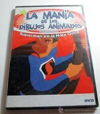 DVD LA MANIA DE LOS DIBUJOS ANIMADOS SUPERMAN EN LA HORA ONCE (5J)