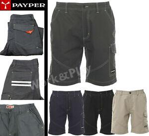 Bermuda 100% Cotone  Pantaloni da Lavoro Corti Multitasche Estivi Uomo Payper