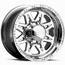 17x9 Raceline 888 Renegade Polished Wheels 8x6.5 (-12mm) Set of 4