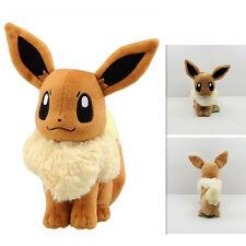 Hot 20cm Pokemon Pocket Monster Eevee Soft Plush Toy Stuff Doll Kids Cute Gift