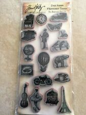 Rubber Cling Stamps by Tim Holtz Stampers Anonymous  Vintage Little Thing THJ005