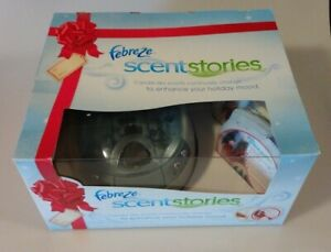 Febreze Holiday Scent Stories Player And 2 Holiday Discs - NIB - FAST SHIPPING