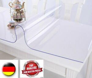 PVC Tischfolie, Tischdecke Tischschutz ,Schutzfolie ,  2,0mm transparent