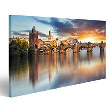 Bild Bilder auf Leinwand Prag - Karlsbrücke, Tschechische Republik CDZ-1K
