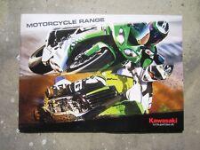 KAWASAKI RANGE 2010 - Sales Brochure Book NINJA KX 85 VULCAN ZX 600 1000 250 450