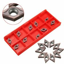 Inserti tornio  10pcs DCMT070202 Carbide Inserts for SDJCR1010H07 Turning Tool