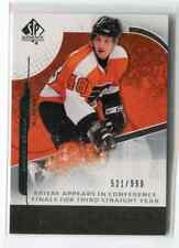ROOKIE to NOW DANIEL BRIERE INSERTS, PARALLEL'S & SHORT-PRINT  - PICK SINGLES