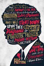 Pulp Fiction (Ezekiel 25:17) - Poster 91,5x61 cm
