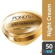 Ponds Gold Radiance Youthful Night Repair Cream With Real Gold Micro Particles