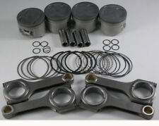 NIPPON RACING JDM HONDA TURBO B-SERIES PISTONS SCAT FORGED RODS B16A 81MM B16A2