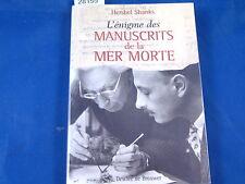 Shanks L'énigme des manuscrits de la mer Morte...