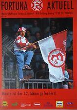 Programm 1991/92 Fortuna Düsseldorf - MSV Duisburg