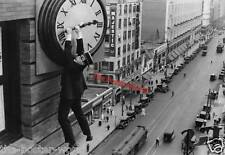 2 Posters Harold Lloyd Old Film Star Safety Last Black & White Photo Poster