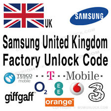 Samsung UK EE O2 Tmobile Orange Unlock Code Galaxy S9 S9+ Plus S8 S8+ Note 8