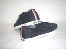Schuhe Damenschuhe Freizeitschuhe Tommy Hilfiger Sneaker Canvas Dunkelblau Gr.37