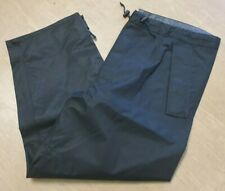 More details for new british army issue black mvp waterproof foul weather trouser size 70/96/112