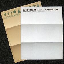 STAR WARS REPRO 1975 INDUSTRIAL LIGHT & MAGIC OFFICE STATIONERY . ILM . NOT DVD