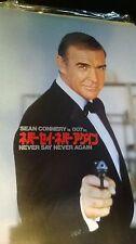 007 NEVER SAY NEVER AGAIN  Japan Movie Program  MINT!!!