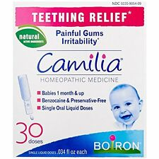 Boiron Baby Teething Pain Relief Camilla 1 Month Up Natural Gums Drops 30 Doses