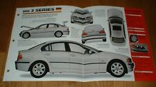 ★★1998 BMW 323I SPEC SHEET BROCHURE PHOTO INFO PAMPHLET 98 99 3 SERIES★★