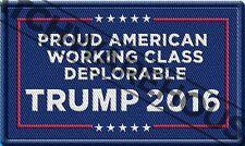 Make America Great Again Deplorable Patch Deplorables For Donald Trump 2016