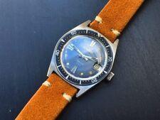 "Aquastar Duward ""Jacques Cousteau"" Vintage Diver Super Compressor Brevet Case"