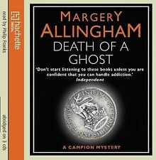 DEATH OF A GHOST - Margery Allingham (CD-Audio, 2009, Free Postage)