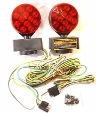 12V 24-LED Magnetic Towing Trailer Light Kit