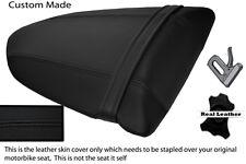 BLACK STITCH CUSTOM FITS KAWASAKI NINJA ZX6R 600 05-06 REAR SEAT COVER