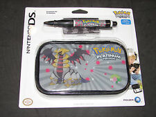 Pokemon Nintendo DS Lite Travel Case 3 Piece Accessory Kit  **NEW**
