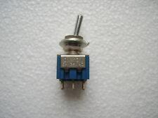 Kippschalter 2 - polig EIN - EIN Schalter 2xUM 6A 125V AC 1Stck.