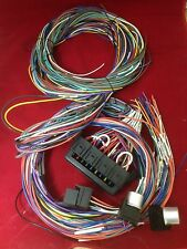 20 Fuses / Circuit Wiring Harness Kit Hot Street Rod Chevy Color Coded GMC C10