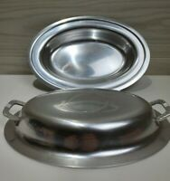 Kensington Double Aluminum Serving Dish with Lid Collectible. Vintage  Retro MCM