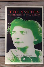 The Smiths Concert Tour Poster Girlfriend in a coma 1987