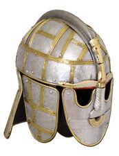 Battle Merchant des Sutton Hoo Casque 8.jh. Acier prunkhelm moyen âge latex